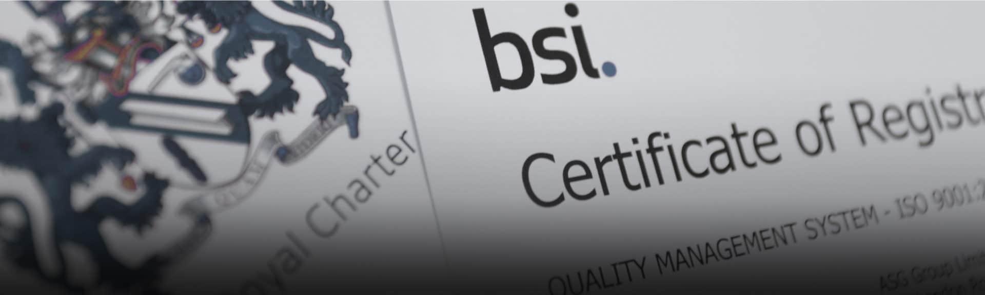 BSI Quality Assurance