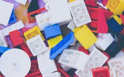 Pieces of Lego
