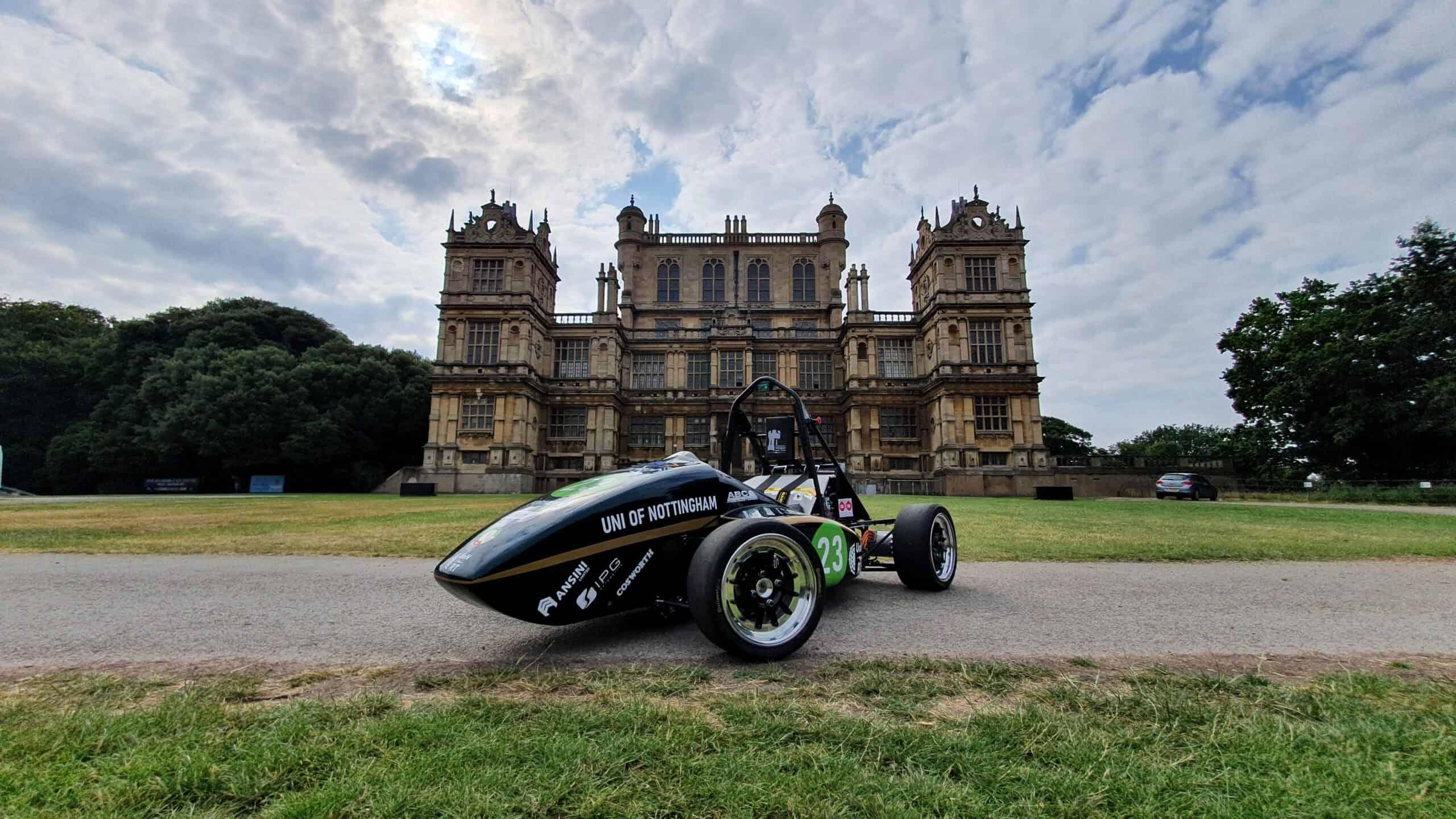 UoN Formula Student Race Car with Ansini Body Work